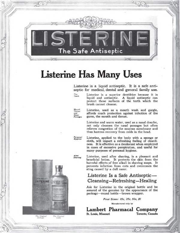Listerine - 3