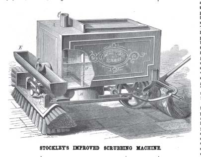 Stockley's Improved Scrubbing Machine