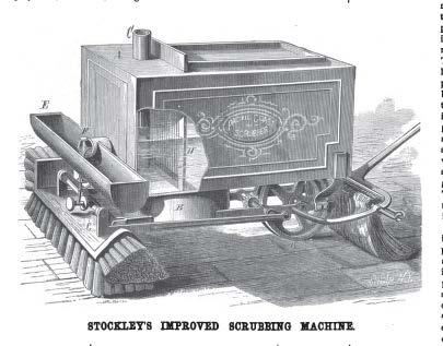 Stockley's Improved Scrubbing Machine