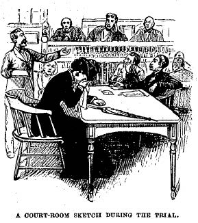 Duer during the trial