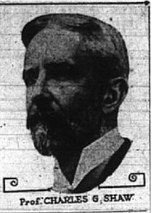 Prof. Charles G. Shaw